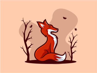 FOX america nature beast wild animal company general sale art fox logoplace thedesignmate logoawesome design vector illustration dribble logo instagram logoinspirations