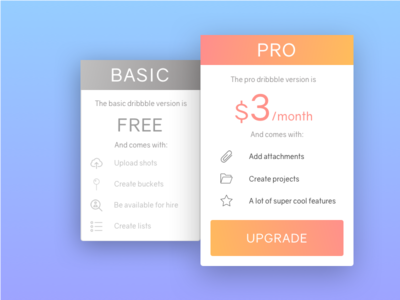 Daily UI #030 - Pricing