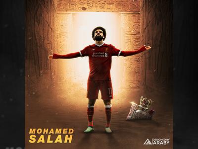 Mo Salah | Sports Design advertisement advertise social media grahpic creative social media social media socialmedia advertising creative design design artwork