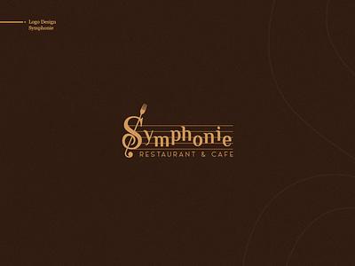 Symphonie Restaurant | Logo logotype restaurant logo design logodesign branding design brand identity brand design brand advertising logo illustration artwork branding design