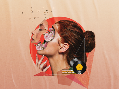 Dɘpression | Collage Art manipulation color art collage collage art creative design artwork design