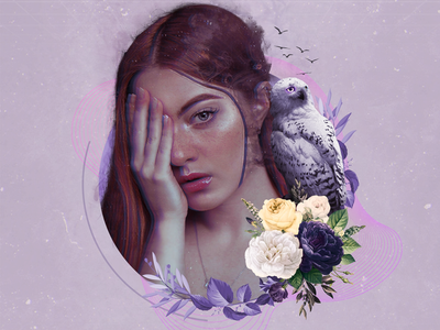 Deficiency | Collage Art character collage art collage creative design artwork design