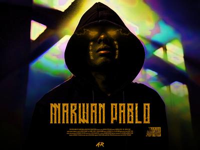 Marwan Pablo color character advertising typography creative design artwork design