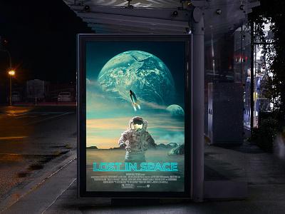 Lost In Space | Manipulation graphic design creative social media branding creative design advertising artwork design