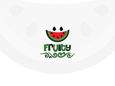 Fruity | Logo advertising artwork vector flat logo illustration design branding