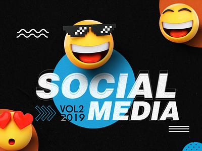 Social Media VOL.2 creative design socialmedia social media advertising artwork design