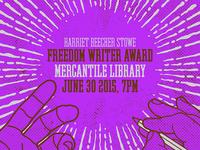 M.Alexander Freedom Writer Award Poster