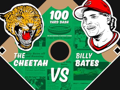 Cheetah Vs Billy Bates 1990 World Series