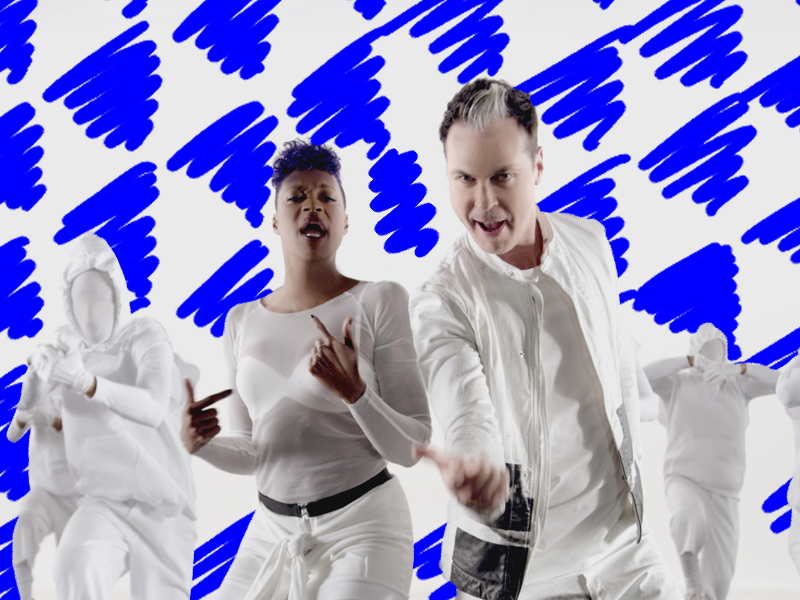 Fitz & The Tantrums Video Animation hand handdrawn animate music video
