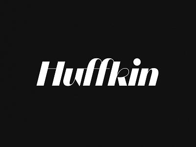 Huffkin Logomark symbol typography logo typography design mark identity logo design logotype logo branding