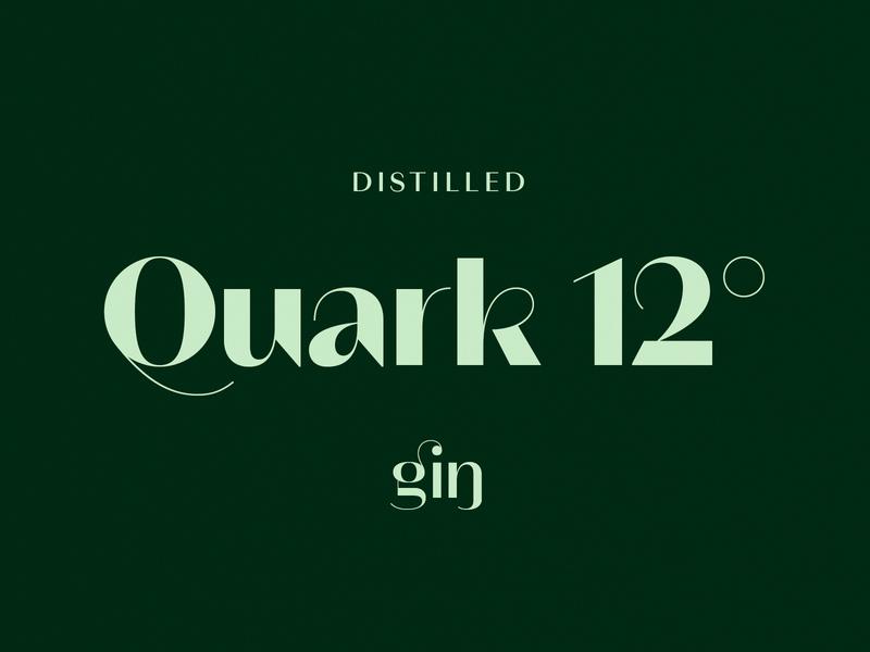 Quark 12˚ Gin