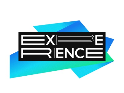 Experience Logo illustration logomark typography logodesign mark logotype logo design logo branding