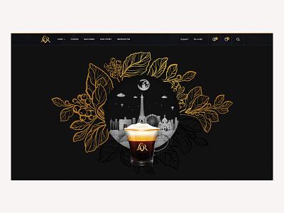 L'OR Digital Platform design design direction digital illustration app design web design uiux ui branding art direction