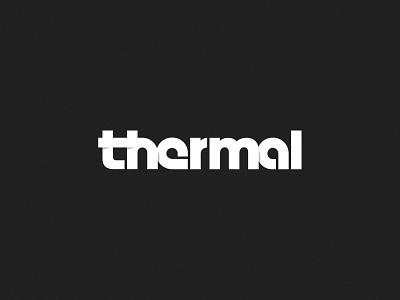 Thermal Logo wordmark design branding mark logo