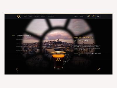 L'OR Digital Platform typography ux mobile ui design art direction web design uiux ui design direction branding