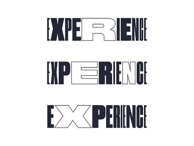 Experience fluid fluid design typography design typography logo type art direction typography animation design mark logo branding