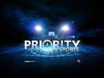 Priority Sports retouching retail design typography design direction art direction branding