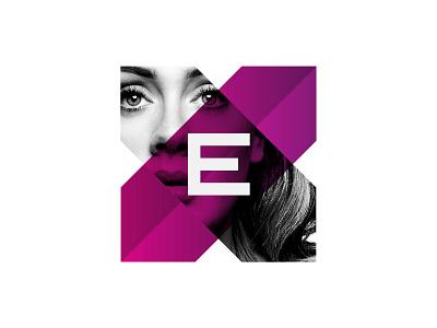 EX Branding symbol identity typography design mark logo illustration design direction art direction branding