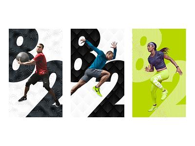 Nike NTC App mobile design typography digital illustration data visualization uiux ui design design direction art direction