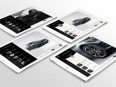 Infiniti's Digital Transformation digital design automotive car configurator design direction art direction mobile design tablet app design uiux ui