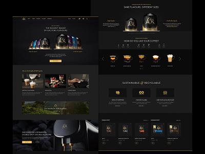 L'OR Digital Platform ux digital typography web design design uiux ui design direction branding art direction