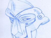 MF DOOM illustration