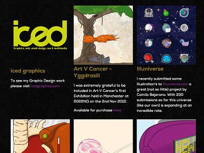 Rise of The Monkey - Showcase web design css html portfolio showcase