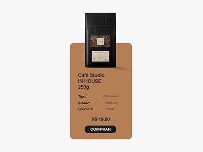 UI design Café Studio