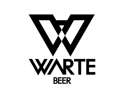 WARTE BEER logotype branding logodesign logo design logo graphic design logo graphic design graphicdesign design