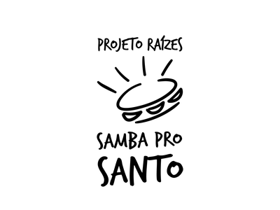 SAMBA PRO SANTO logotype logo design logodesign logo graphic design logo graphic design graphicdesign design