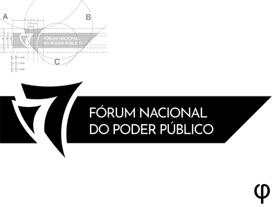 FÓRUM NACIONAL DO PODER PÚBLICO golden ratio goldenratio logotype logo design logodesign logo graphic design logo graphic design graphicdesign design