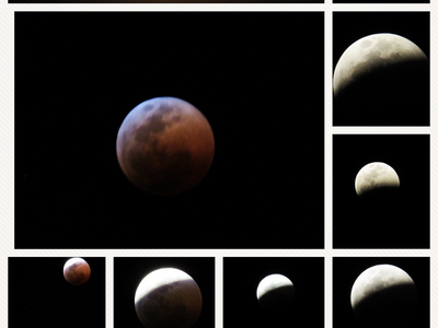 Lunar Eclipse reddish bloodmoon eclipse lunar