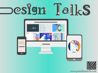 Design Talks illustration designer website graphic