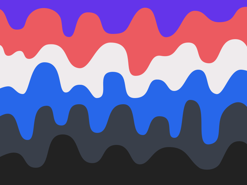 Waves waves blue grey white purple red black colors exploration