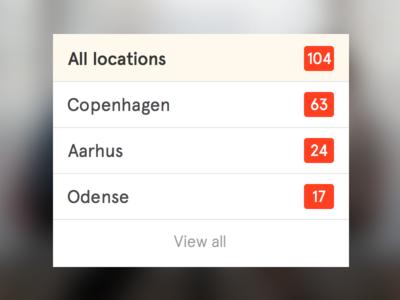 Location filter
