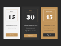 UI challenge - Pricing #030