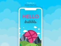 Hello Dribbble! :)