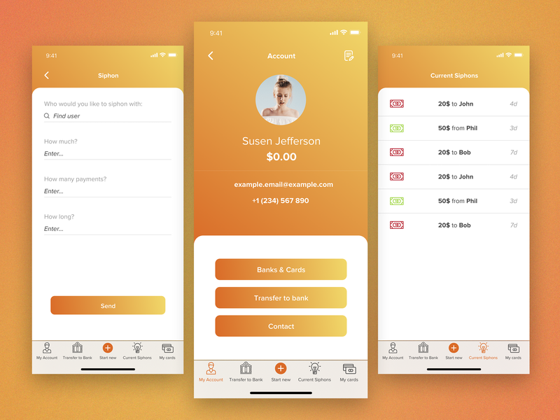Money Operation App UI/UX Design by SkyNick on Dribbble