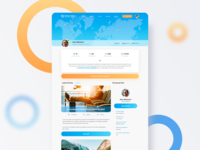 Travel Social Network UI/UX Design
