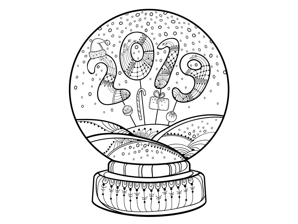Coming Soon New Year S Snow Globe By Sorokina Yevheniia On