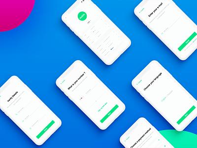Mobb App design design interface uiux
