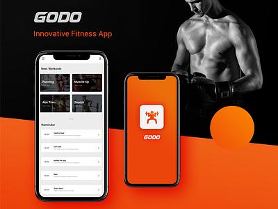 GODO | Fitness App interface uiux design app