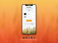 Login for Agriculture App