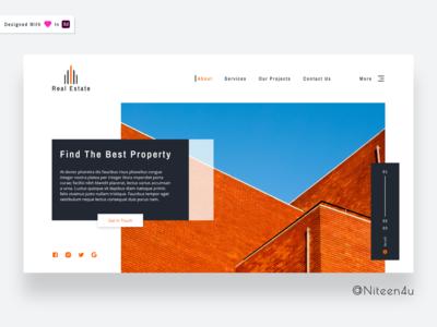 Real Estate- Landing Page