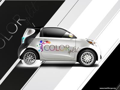 Color Split - car branding