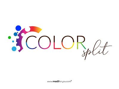 Color Split Logo