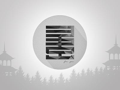 MFY Japan version icon illustration web branding vector logo design