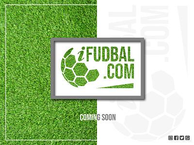 iFudbal.com web illustration branding vector logo design