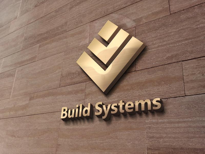 Build Systems Logo three