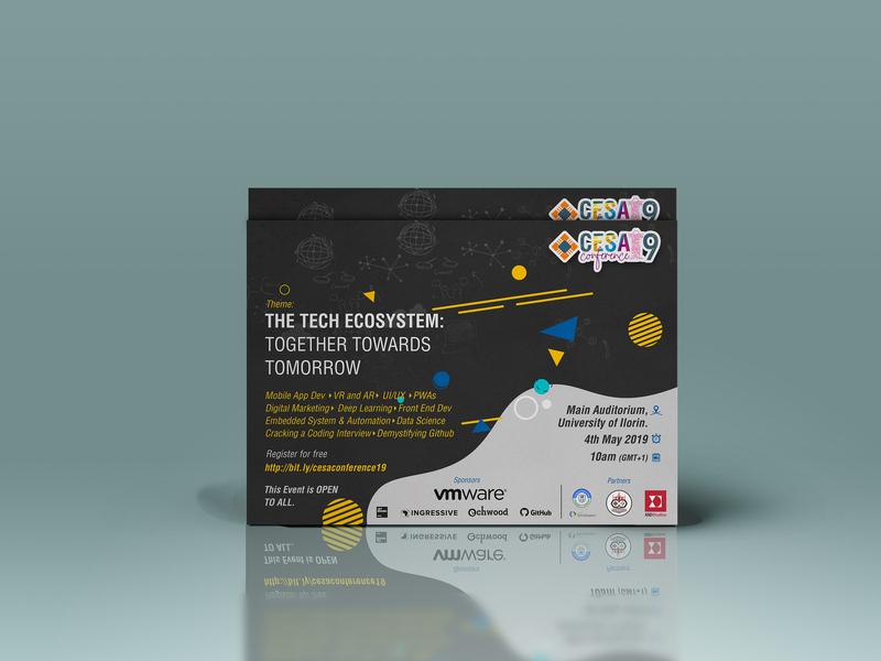 Poster/Flyer Design - CESA Conference '19 flyer artwork flyer design poster design flyer poster